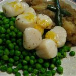 Scallops-in-orange-butter-sauce