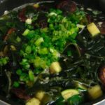 Ultimate Good-For-What-Ails-You Healthy Soup - Seaweed and Dried Mushrooms