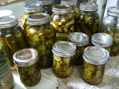 Award-winning sweet and sour pickles recipe