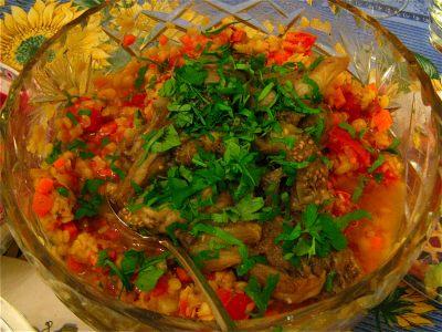 lentils-with-broiled-eggplants-plenty-yotam-ottolenghi-2
