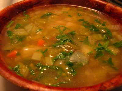 Really Good Vegetable Soup Recipe — Dishmaps