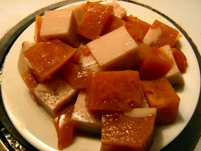 vegan-jello-agar-agar-persimmon-almond-honey