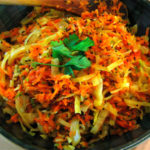 Indian-stir-fried-cabbage-with-carrots