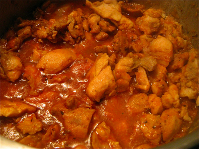 "Chicken Curry in a Hurry from ""My Indian Kitchen ..."