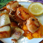 seared-scallops-with-potatoes-and-carrot-puree
