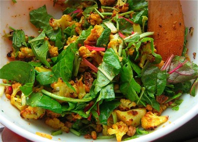 curried-cauliflower-with-honey-pine-nuts-chard