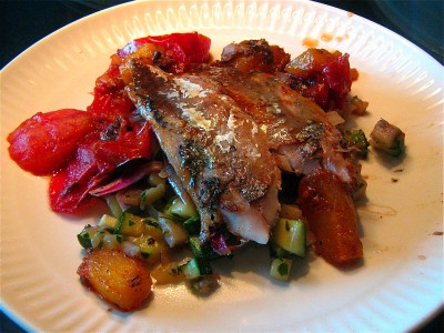 seared-mackerel-with-mango-tomatoes-and-ratatouille-3