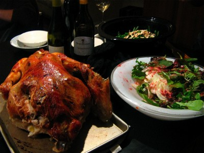 thanksgiving-turkey-salad-wine