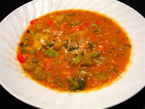 Red Lentil Dal with Broccoli, Peppers and Toasted Coconut, and Comfort ...