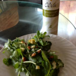 arugula-olive-oil-candied-pecans-sheeps milk-salad