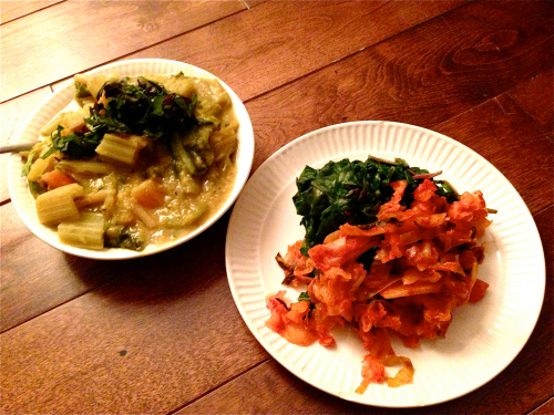 the-best-way-to-eat-5-lbs-swiss-chard-and-half-a-litre-of-kimchi