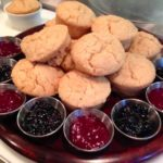 vegan popup brunch scones