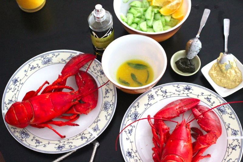 $6.99 a Pound Lobster with Sage Butter | Multiculturiosity