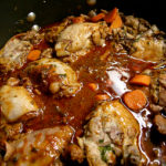"Coq Au Vin: Bonnie Stern's ""The Best of Heart-Smart Cooking"""
