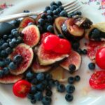 Fig, Cherry Tomato, and Wild Blueberry Salad