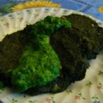 On Swiss Chard Cakes with Parsley Sauce and How to Make Disgusting Greens Delicious