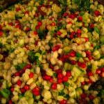 Barley-Pomegranate Salad