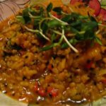 "The Other Dal: Yellow Mung Beans with Spinach from ""My Indian Kitchen"""