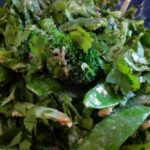 Broccoli, Green Bean, and Snow Pea Sweet Sesame Salad