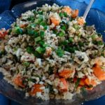 A Salad I Could Eat Everyday: Quinoa Salad with Lime and Roasted Sweet Potatoes