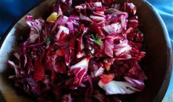 "Beet, Orange, and Black Olive Salad with Orange Flower Water from ""Plenty"""