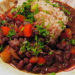 """Spicy, Citrusy Black Beans"" from Simply Recipes"