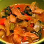 Chicken and Vegetable Soup with Stock from the Montreal Gazette