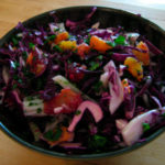 Orange, Fennel and Red Cabbage Salad