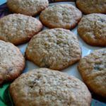 Gluten-free, Dairy-free Oatmeal Raisin (or Chocolate Chip) Cookies