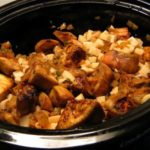 Slow-cooker Eggplant and Potato Curry