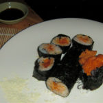 Sea Urchin (Uni Sushi) and Sea Snail Salad