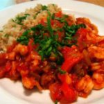 Nordic Shrimp Creole adapted from the New York Times Cookbook