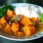 Thai Pumpkin Curry with Mackerel and Fish Sauce