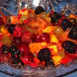 Ancho Chili Pepper and Lime Exotic Fruit Salad (and Margaritas!)
