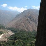 Climbing in La Escuela: Through an avocado and cherimoya farm
