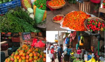 Walls of Watermelon, Aisles of Potatoes, Bushels of Chili Peppers and a Lifetime Supply of Mangoes in Lima, Peru