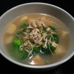 Soul-Satisfying Soup for the End of the Season: Seafood Broth with Parsnips and Broccoli