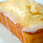 Rum Raisin Lemon Loaf with Lucuma Glaze