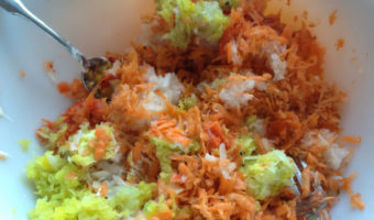 Sweet & Spicy Carrot and Cabbage Slaw