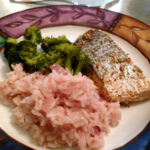 Roasted Sustainable Arctic Char with Simple Risotto-Style Rice