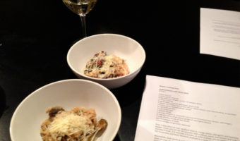 Risotto Cooking Class Montreal: Seafood Risotto and Wild Mushroom Risotto