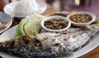 Salt-Grilled Fish, a Night Market and Living Near BTS On Nut in Bangkok, Thailand
