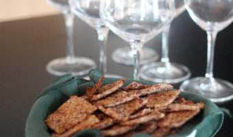 Gluten-Free Almond-Thyme Crackers