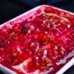 Soft and Gooey Strawberry-Rhubarb Pudding Cake