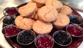 Recipes from the Vegan Brunch Popup with Stephanie Audet: Gluten-free Scones, Nutella Pancakes and Mexican Rice