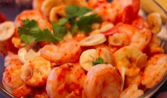 Shrimp with Bananas, Almonds and Agua Diabla: Recreating ABC Cocina Restaurant at Home