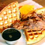 Junior: Filipino Pork belly waffles, DJs, fried rice and Calamansi lime mimosas draw brunchers to Griffintown