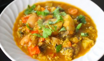 Riffing on Josée Di Stasio's Red Lentil Stew