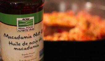 NOW Macadamia Nut Oil, Available at the Expo Manger Santé et Vivre Vert