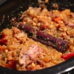 Slow-Cooker Lamb Neck Tagine with Chickpeas and Cinnamon